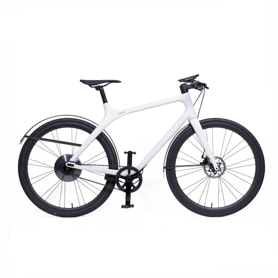 Gogoro Eeyo E-Bike with Rain-bow Fenders