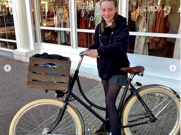 Oski Bike oma frame with Rain-bow Fenders