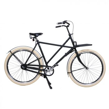 Oski Bike based on a Azor cross frame with Rain-bow Fenders