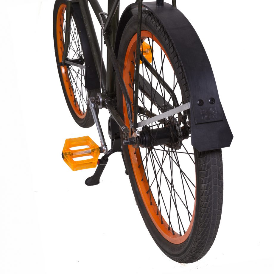 Gazelle Kwikstep Bicycle with Rain-bow Fenders