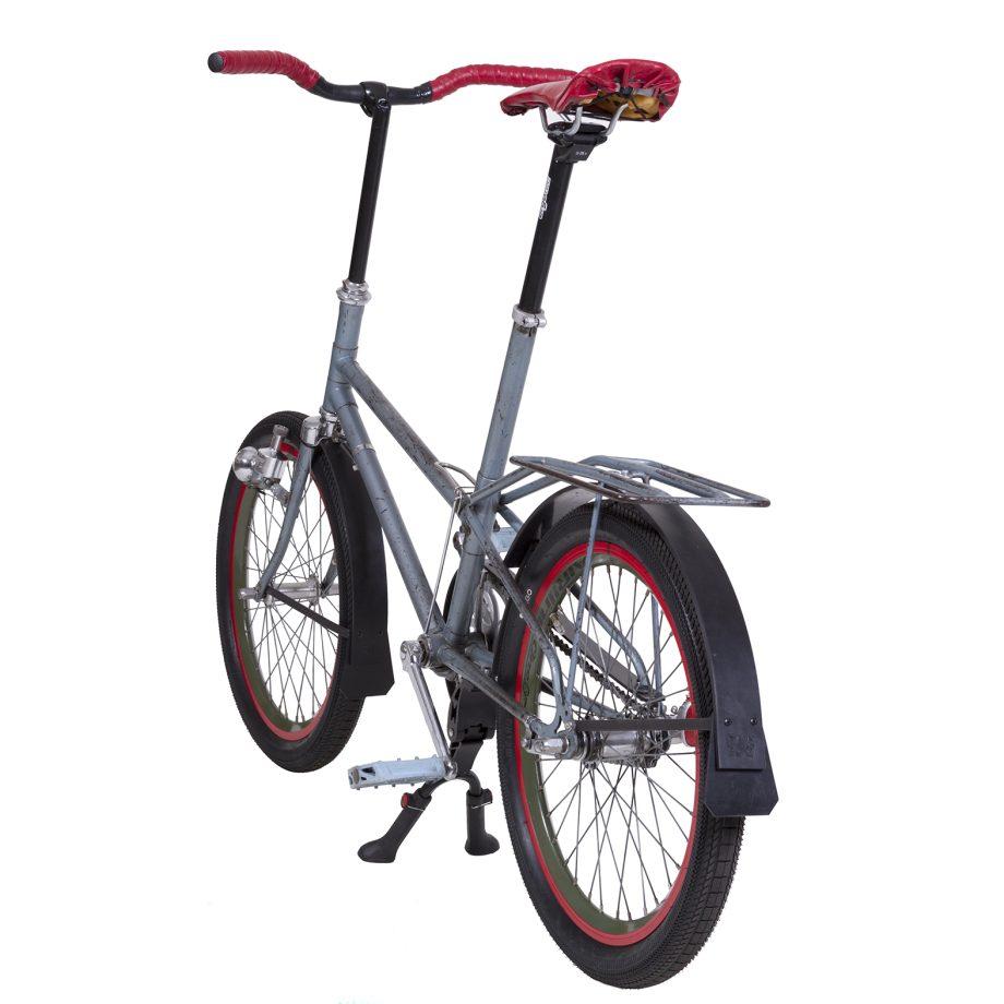 Gazelle Kwikstep Bicycle with Rain-bow Fenders